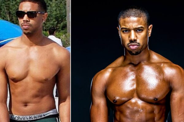 Celebrity bodybuilding & fitness transformations