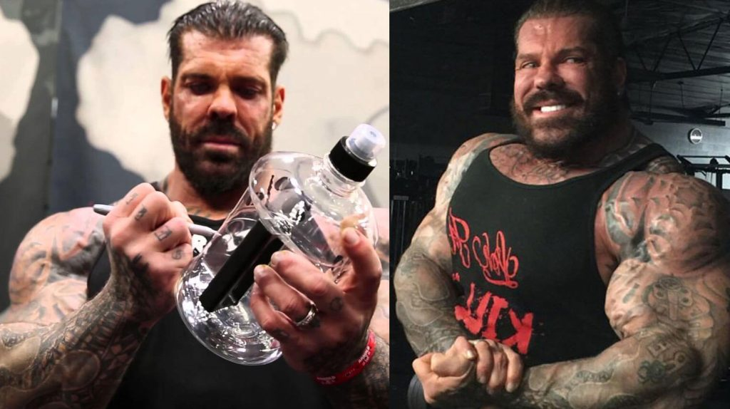 Rich Piana Has Taken So Many Steroids That It Looks Like