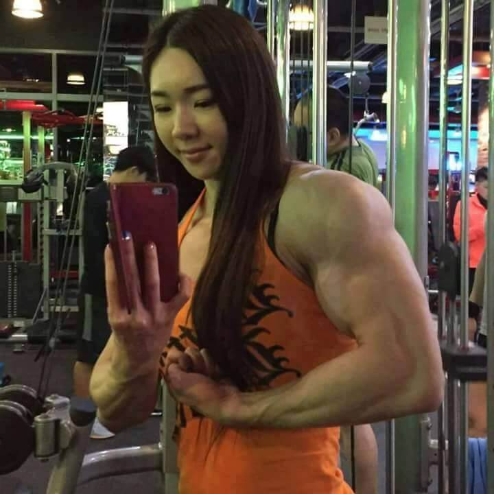 South Korean Bodybuilder