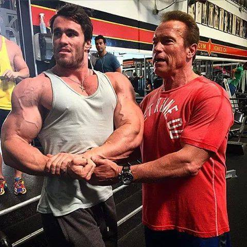 Arnold Schwarzenegger is Training His 18 Year Old Son To ...