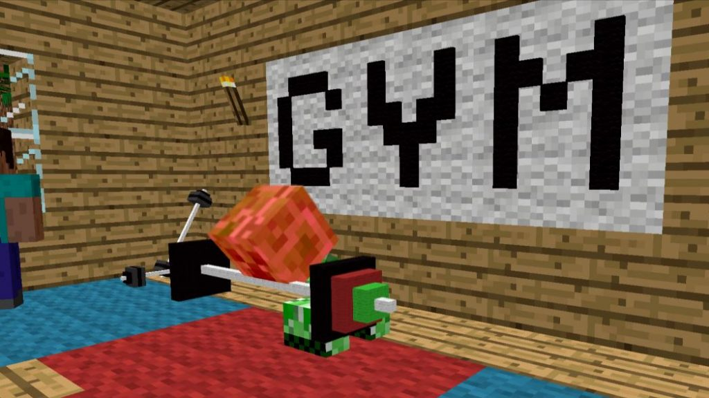 Is minecraft bodybuilding really a thing it sure is with