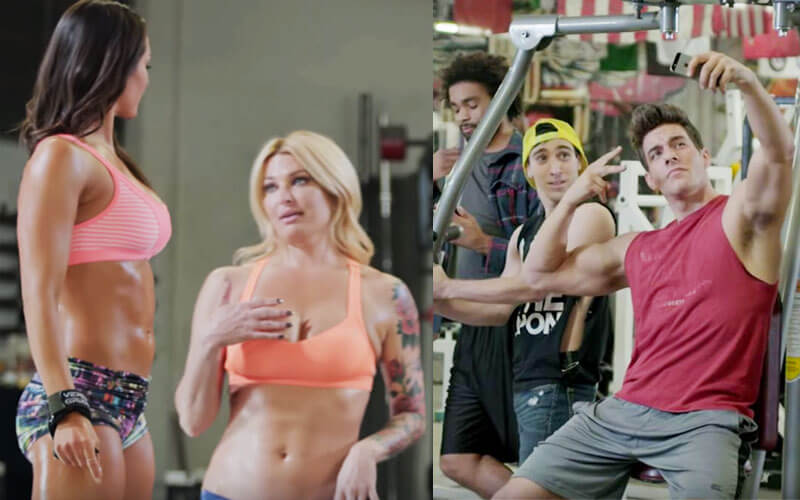 gym wildlife is real-life