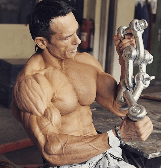 the most shredded man on earth has under 3 body fat and he s 45