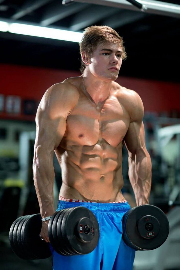 Jeff Seid Shows Off What 8 Years Of Serious Lifting Looks Like In